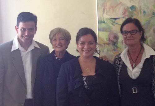 Rubén A. Gaztambide-Fernandez, June Countryman, Verne Lorway, Kate Tilleczek