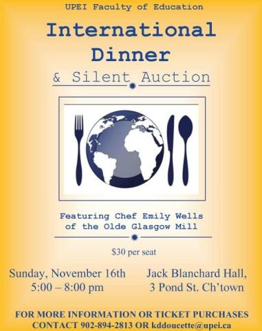 2014 Dinner Poster